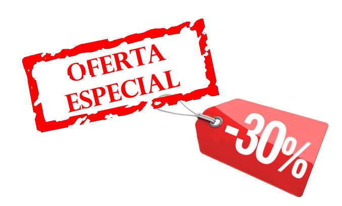 oferta especial para promoción online