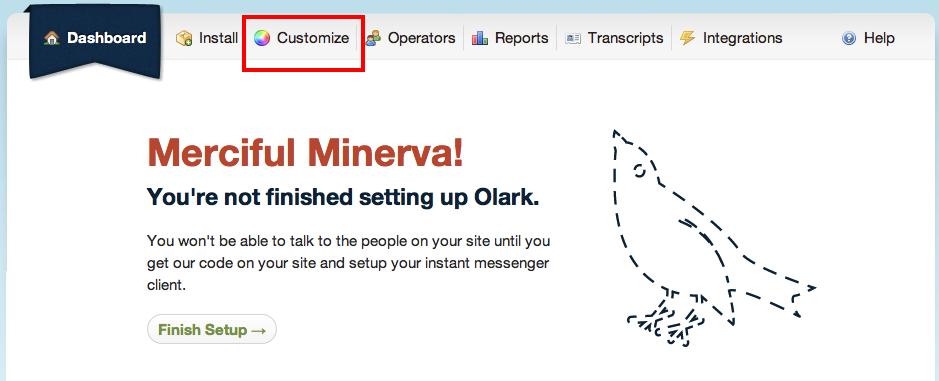Chat online Olark
