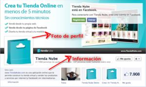 Foto de perfil e Información de tu Página en Facebook