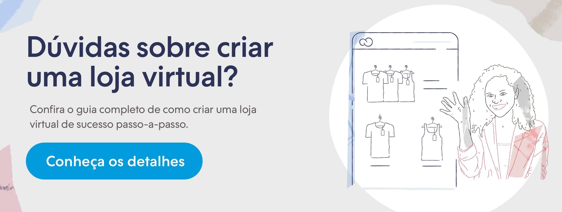 Crie sua loja virtual e venda pela internet pelo seu computador