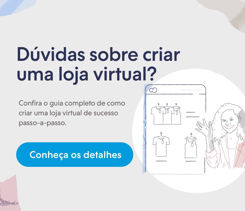 Crie sua loja virtual e venda pela internet