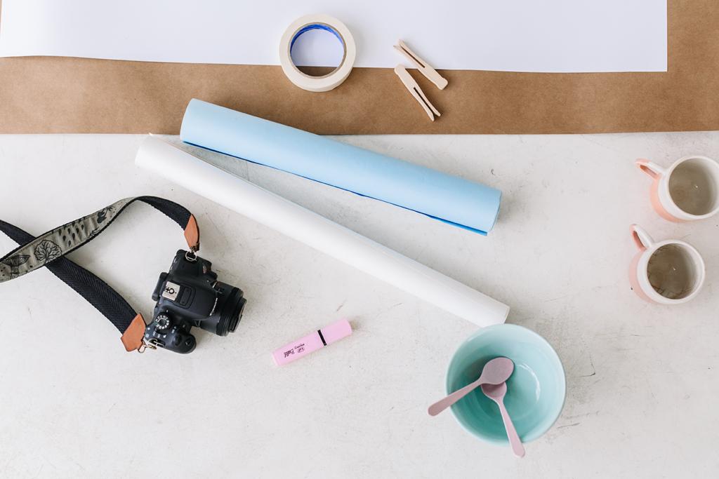 Fotos creativas para mostrar tus productos