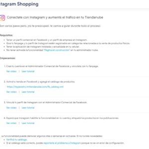 Versión 2- Instagram Shopping
