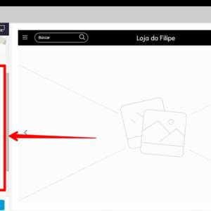 Captura de tela da página de edições avançadas da loja virtual Nuvemshop