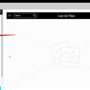 Captura de tela indicando o botão onde deve-se clicar para enviar o arquivo de imagem do logotipo