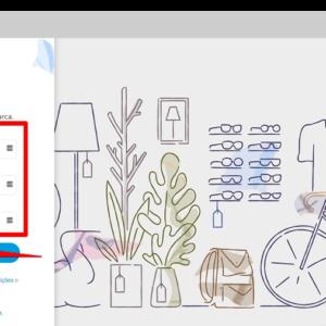 Captura de tela da página de login para começar a vender online