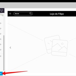 Captura de tela do administrador Nuvemshop, mostrando o botão de salvar
