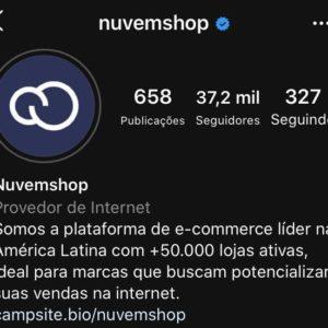 Instagram da Nuvemshop