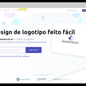 Captura de tela da ferramenta Logomaster