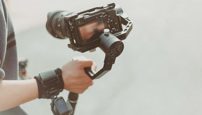 cámara para crear video con fotos y música