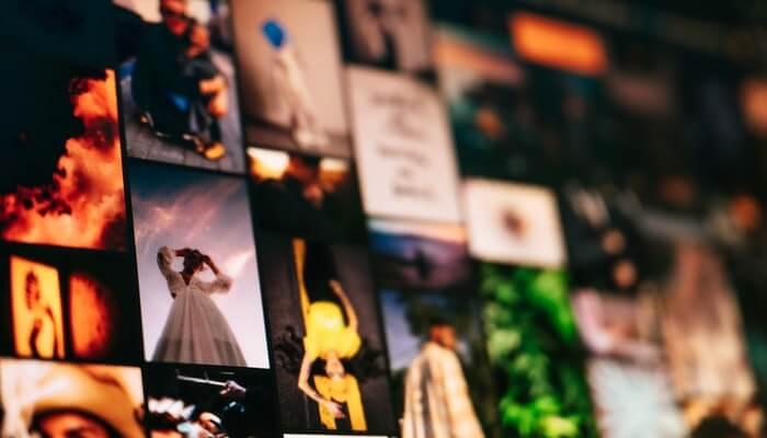 Fotos agrupadas, representando o aplicativo que faz montagem no Instagram