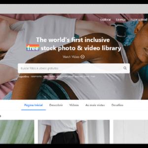 Captura de tela do banco de imagens grátis Pexels