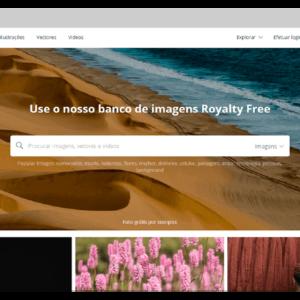 Captura de tela do banco de imagens grátis Pixabay