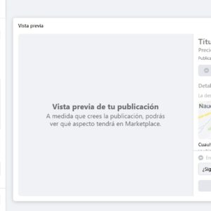 Cómo vender en Facebook Marketplace