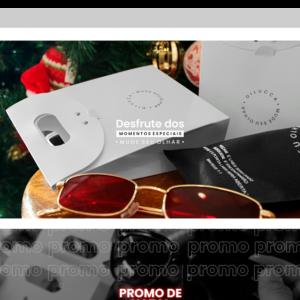 Imagem mostrando o layout da loja Dilucca