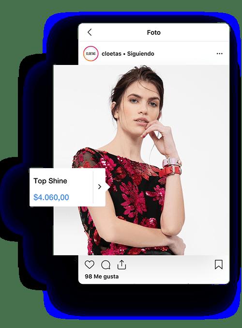 Tienda para vender por Instagram