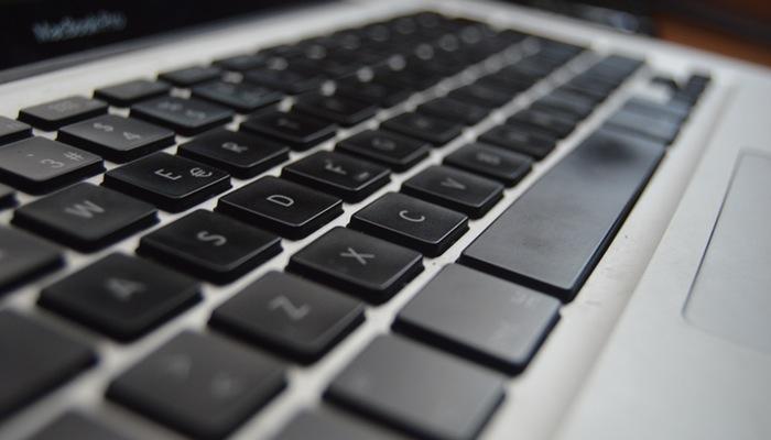 Teclado de computador representa o Marco Civil da Internet