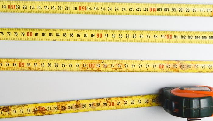 Fita métrica representa como medir resultados no Google Analytics