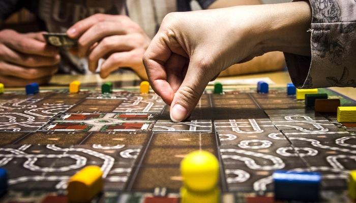 Jogo de tabuleiro, representando como fazer sorteio online
