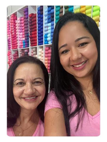 Marluce Santos e Amanda Magalhães, sócias da Mania de Fitas.
